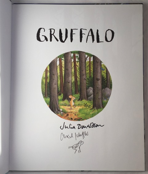 Image for The Gruffalo's Child DOUBLE SIGNED NORWEGIAN EDITION