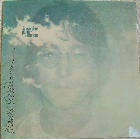 Image for Imagine SIGNED IMAGINE LP ORIGINAL VINYL LP SIGNED KLAUS VOORMANN