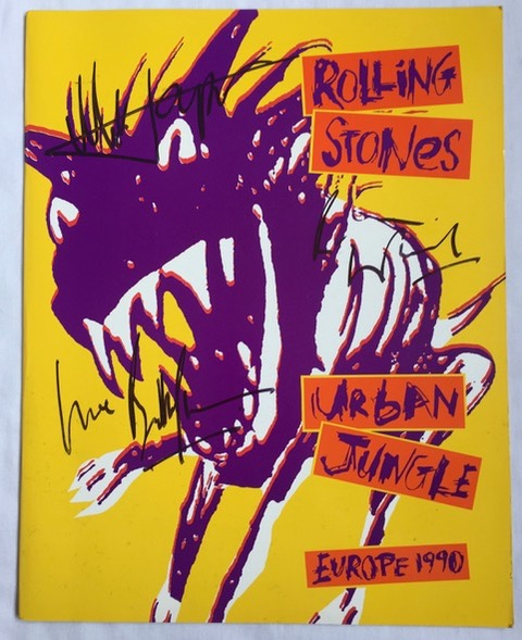 Image for Urban Jungle Tour programme SIGNED