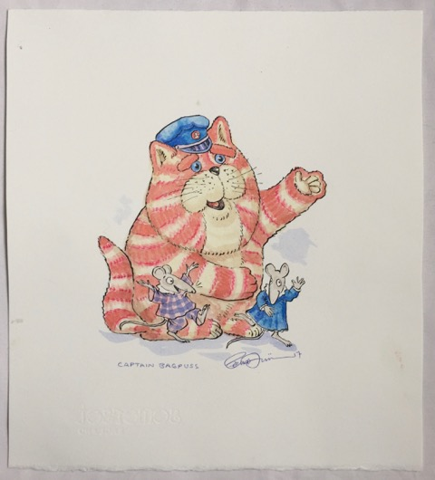 Image for Captain Bagpuss, Original Watercolour