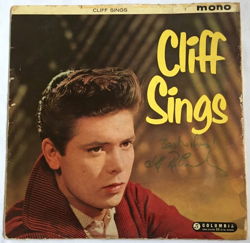 Image for Cliff Sings AUTOGRAPHED