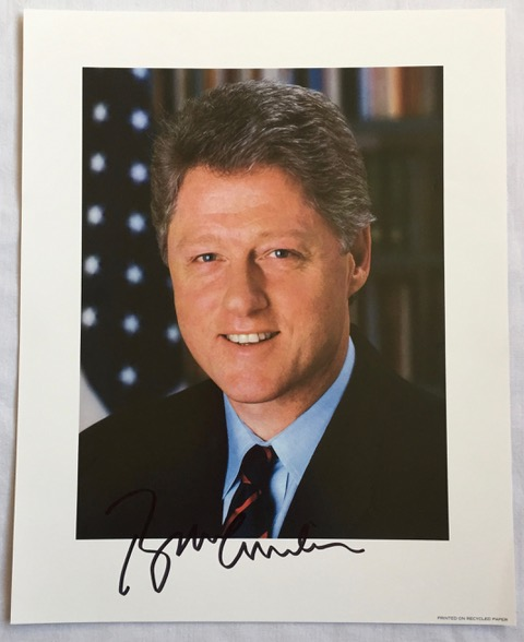 Image for Signed Presidential Photograph