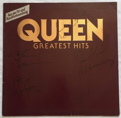 Image for Greatest Hits FULLY SIGNED