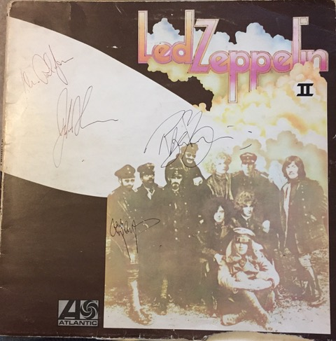 Image for Led Zeppelin II SIGNED LP