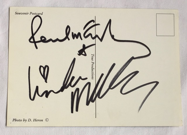 Image for Paul McCartney SIGNED Postcard