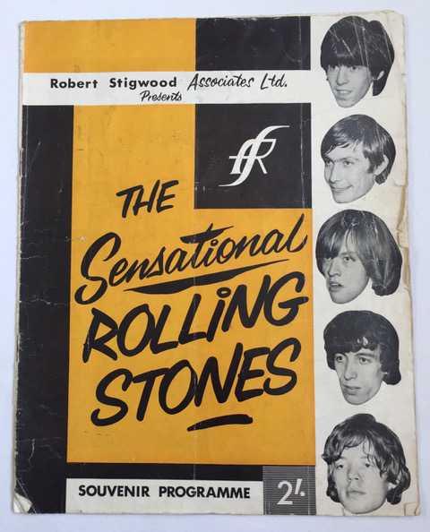 Image for Original SIGNED 1964 Sensational Rolling Stones Programme