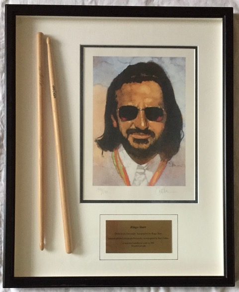 Image for Ringo Starr SIGNED Drumsticks Limited Edition