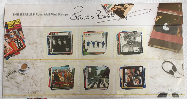 Image for The Beatles Signed Royal Mail Stamps