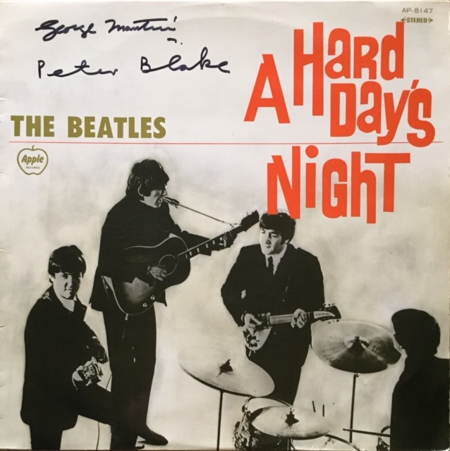 Image for A Hard Day's Night SIGNED JAPANESE Vinyl LP