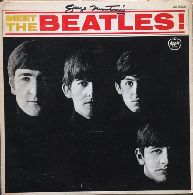 Image for Meet The Beatles SIGNED JAPANESE vinyl LP