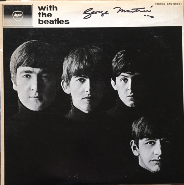 Image for With The Beatles SIGNED JAPANESE vinyl LP