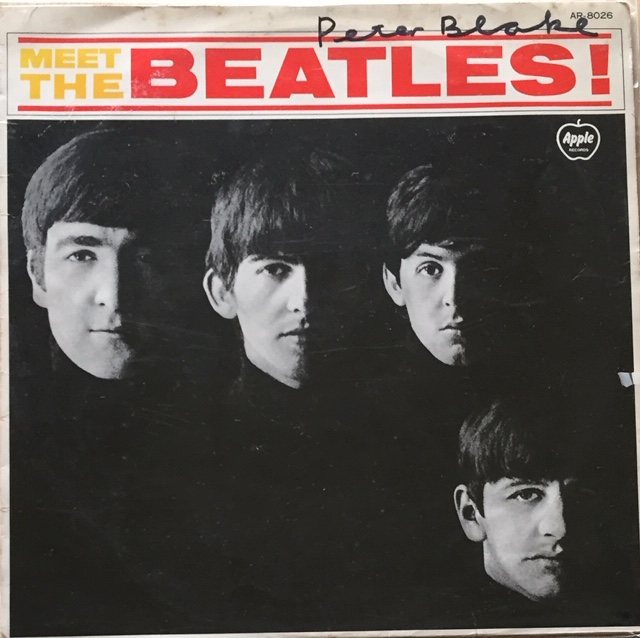 Image for Meet The Beatles SIGNED JAPANESE RED VINYL LP