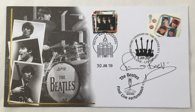 Image for The Beatles Signed First Day Cover