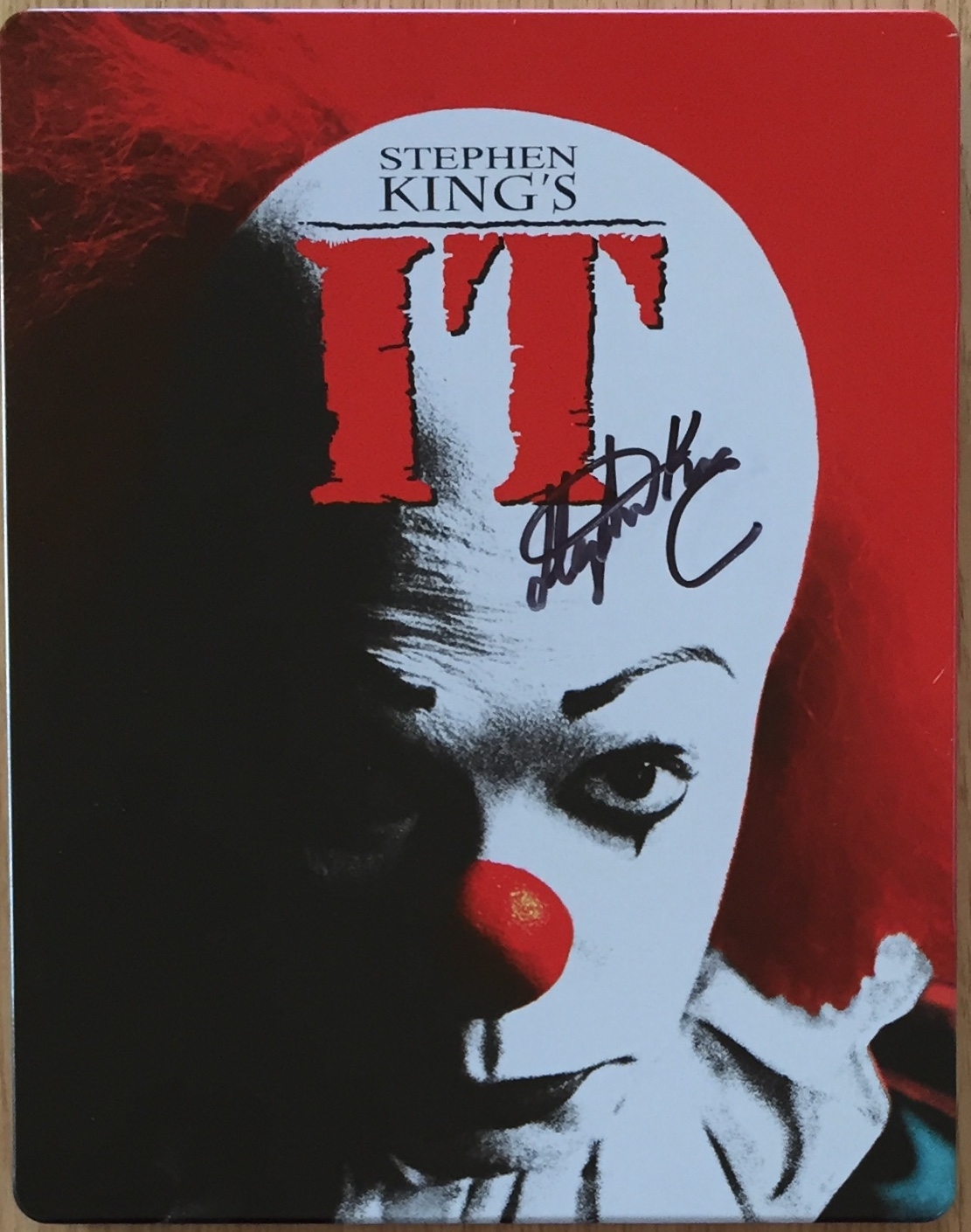 Image for IT Signed Blu-Ray Steel Book Limited Set
